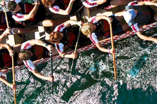 How Dragon Boat Racing Gave Breast Cancer Survivors Back Their Bodies