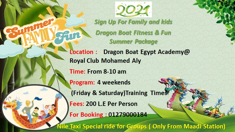 Dragon Boat Fitness & Fun Summer Package